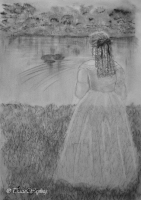 Illustration by Tracie Wayling for Jason Day's book Haunted Chelmsford